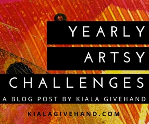 Kiala Givehand Yearly Art Challenge Blog Post